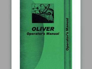 Operator's Manual - OL-O-70 LATE Oliver 70 70