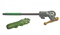 Lift Link Assembly - Adjustable, Right Hand with Yoke