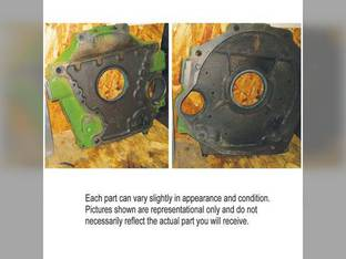 Used Flywheel Housing John Deere 135 2510 2270 9920 4045T 6100 2420 2520 6359D 24 3430 2320 7445 2280 180 6600 6600 4039T 6500 152 6068T 6068 3300 4239D 4400 202 4039 4420 6359T 6000 4239T 9930 4045
