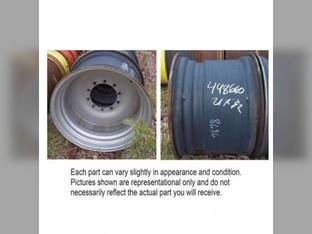 "Used 21"" X 32"" Rim 10 Bolt 11"" Pilot Med. Duty Case IH 2188 2388 2377 1660 2144 2366 2344 1680 2166 184482C3"