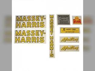 Tractor Decal Set Pacemaker Mylar Massey Harris Pacemaker