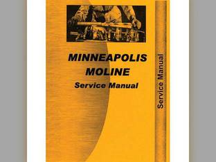Service Manual - MM-S-M5 Minneapolis Moline M5 M5 G G