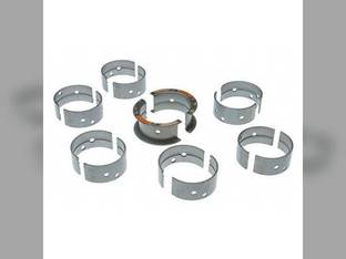 "Main Bearings - .010"" Oversize - Set Oliver 1755 1850 1650 1655 1800 1955 1855 1750 1950 White 2-70 2-85 2-78 2-63 Minneapolis Moline G940 G750 G850"