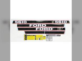 5610 Decal Set Black/Red Ford 5610