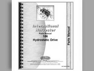 Parts Manual - IH-P-186 HYDRO Harvester International Hydro 186