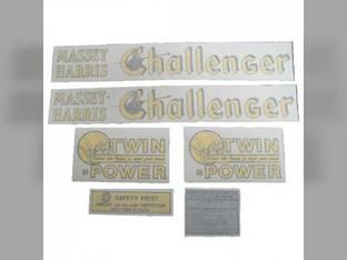 Tractor Decal Set Challenger Vinyl Massey Harris Challenger