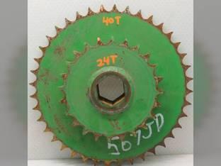 Used Sprocket John Deere 556 456 567 467 AE54302