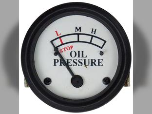 Gauge, Oil Pressure