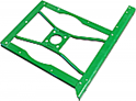 Side Bearing Support - Front