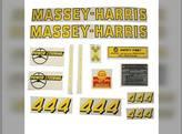 Massey Harris Decal Set