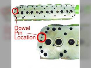 Remanufactured Cylinder Head Oliver 1650 1655 1750 White 2-70