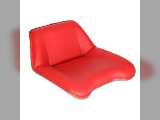 Pan Seat Vinyl Red David Brown 995 990 1210 1212 1410 1412 885 996 K947414