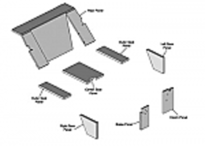 Upholstery Kit - Original Western Pattern