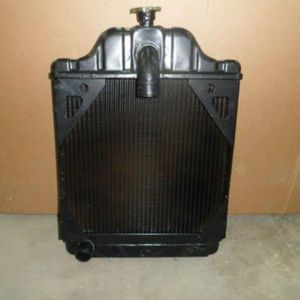 "Used Radiator using 7/8"" Male Oil Line Fittings Case 530CK 530CK 580CK 580CKB A39345"