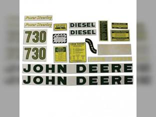 Decal Set John Deere 730