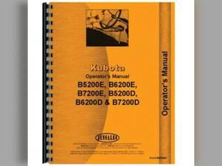 Service Manual - KU-S-B5200+ Kubota B6200 B7200 B5200