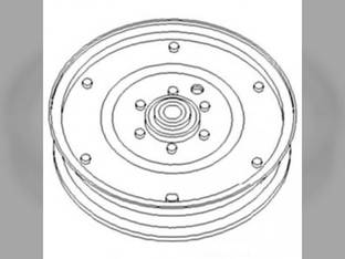 Idler Pulley John Deere 9400 9400 9650 9650 9560 9560 9500 9500 6620 6620 9600 9600 9550 9550 7720 7720 9660 9660 9610 9610 Gleaner International New Holland Case IH 1680 1680 Massey Ferguson White