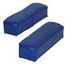 Arm Rests - Blue Vinyl