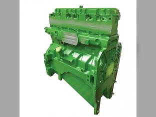 Remanufactured Engine Assembly Long Block 8.1L John Deere 8400T 8300 8100T 8400 8100 8300T 6081HRW03 6081HRW01 8200T 6081HRW02 8200