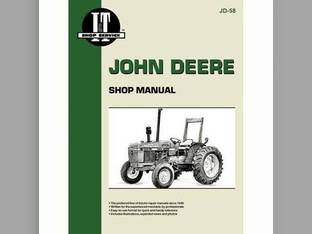 I&T Shop Manual - JD-58 John Deere 2550 2550 2255 2255 2150 2150 2355 2355 2555 2555 2155 2155 2350 2350 2355N 2355N
