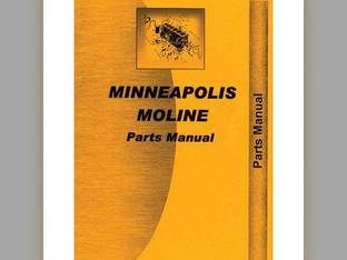 Parts Manual - MM-P-R Minneapolis Moline RTU RTU R R