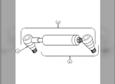 Power Steering, Cylinder, RH/LH