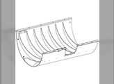 Concave, Threshing Section, Cover