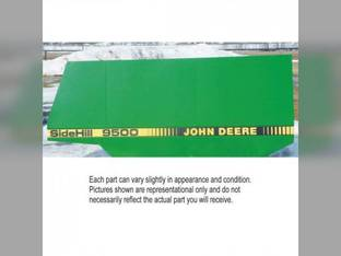Used Service Access Door LH for John Deere 9400 CTS 9500 9410 9510 9600 9610 AH127704