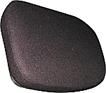 Seat Cushion - Black Fabric