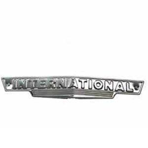 Front Emblem Farmall & International B A