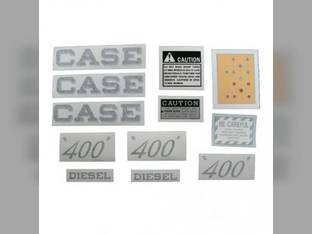 Decal Set Case 400