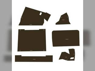 Cab Foam Kit with Headliner Brown Massey Ferguson 3505 3525 3545 2640