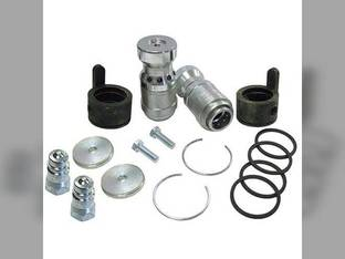 "Hydraulic Coupler Conversion Kit with 7/8"" Male Coupler Tips"