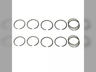 """Piston Ring Set - .120"""" Oversize - 2 Cylinder John Deere B 50 190"""