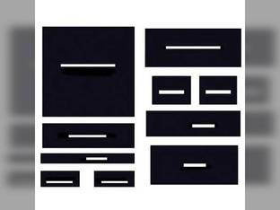 Cab Foam Kit with Headliner Black Ford FW30 FW40 FW60 FW20