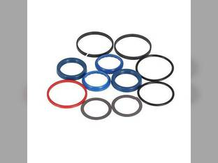 Hydraulic Seal Kit - Steering Cylinder Case 590 Super L 570MXT 586G 580 Super L 588G 570LXT 590 580M 580 Super M 585G 580L New Holland LB75CP LB110 B95 LB75B B110 LB90 LB75 Ford 675E 575E 655E 555E