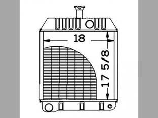 Radiator Massey Ferguson 40 130 50 579010M92