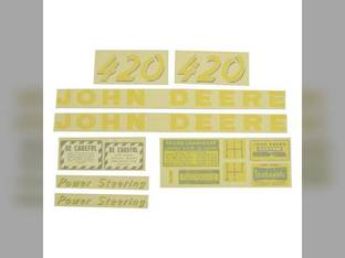 Decal Set John Deere 420