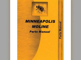 Parts Manual - MM-P-1730/2742 Minneapolis Moline 17-30 27-42