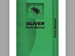 Parts Manual - OL-P-88 S88 Oliver 88 88 Super 88 Super 88