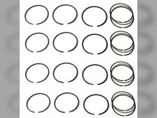 "Piston Ring Set - .040"" Oversize - 4 Cylinder Allis Chalmers 138 149 D10 D14 D12 D15 H3 I40 Oliver 550 66 660 Super 66 Super 55 Case S SC SI SO John Deere 24 New Holland L35 Waukesha G155 Wisconsin"