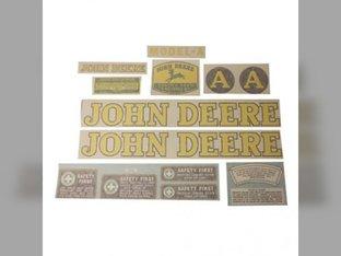 Decal Set John Deere A