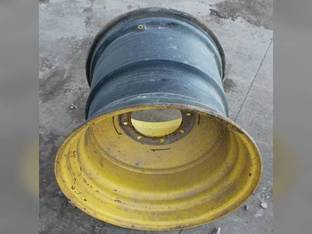 "Used 25""x 26"" 9.5"" Offset 8 Bolt Rear Rim John Deere 9550 9560 9760 STS 9660 CTS 9450 9870 STS 9670 STS 9560 SH 9750 STS S660 S670 9650 CTS 9660 S690 9650 STS 9650 9660 STS 9770 STS 9860 STS 9550 SH"