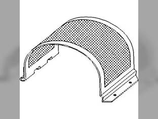 Clean Grain Lower Elevator Door Assembly - Perferated Style Case IH 2188 1682 2388 2588 2377 1680 1688 2577 1317842C1