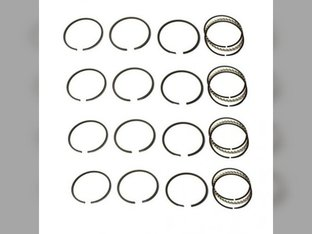 "Piston Ring Set - .020 "" Minn-Moline Minneapolis Moline RTU RT 335 R Z 165 206H4 RTI"