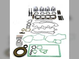 Engine Rebuild Kit - Less Bearings New Holland LS175 L215 L218 L220 C175 L175 TC55DA Case SR175 420CT 420 SV185 SR160 Case IH DX55 Takeuchi TW60 Perkins 404C-22T Shibaura N844LT