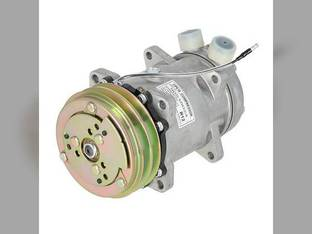 Air Conditioning Compressor - Sanden Style with Clutch Allis Chalmers White 120 2-180 4-210 2-110 2-155 195 125 145 2-88 140 160 2-135 4-225 170 100 185 2-85 Deutz FIAT Steiger AGCO Same Spra-Coupe