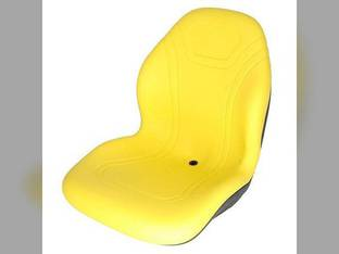 Bucket Seat Vinyl Yellow Bobcat Dresser John Deere 70 4710 3120 315 240 4720 4700 2320 250 4520 320 260 270 4320 4400 2520 Case 1840 1845C 430 450 90XT 440 420 1845 Gehl Case IH Caterpillar Montana