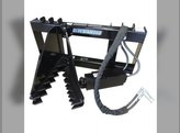Blue Diamond - Skid Steer Attachment Tree Puller Quick Attach Hoses & Couplers Included