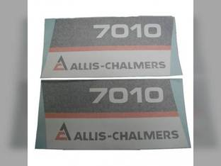 Decal Set Allis Chalmers 7010